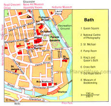 map uk bath 12 top tourist attractions in bath planetware