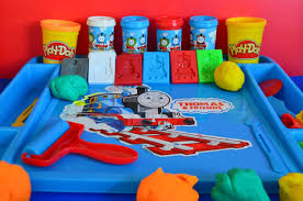 thomas the train activity table and chairs play doh set thomas and friends molds thomas the tank percy