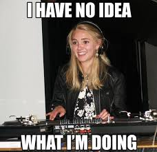 Im A Dj Meme - what a weird looking kitchen i have no idea what i m doing