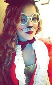 the white rabbit makeup halloween halloween pinterest