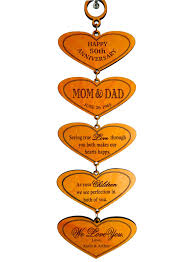 50th wedding anniversary gift etiquette 50th anniversary gift for parents golden jubilee gift for and
