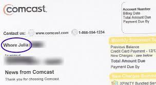 Comcast Help Desk Number Comcast Is Also Changing Customers U0027 Names To U201cwhore U201d And U201cdummy