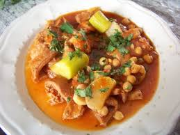 cuisiner des tripes recette de douara tripes aux pois chiches et navets recipe