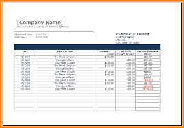 Payroll Statement Template by 5 Payroll Statement Template Excel Statement 2017