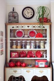 patchwork and lace makes kitchen dresser dresser and kitchens