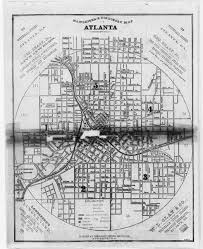Maps Of Atlanta by Hargrett Library Rare Map Collection Frontier To New South