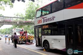 volvo trucks singapore sbst volvo b9tl accident 280517 sbs3216b 22 land transport guru