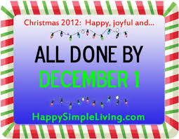your best holidays all done by december one happy simple