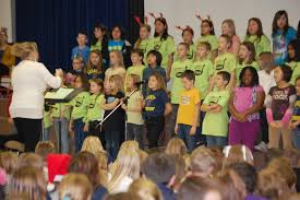 sing around the christmas tree assembly barnett elementary