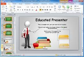 sample education power point templates make a great looking ppt