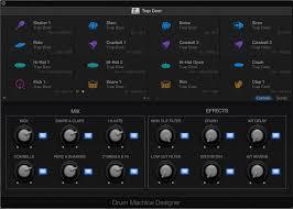 pro machine logic pro x 10 1 drum machine designer