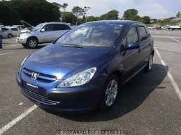 blue peugeot for sale used 2004 peugeot 307 gh t5rfn for sale bf165318 be forward
