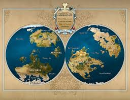 True Map Of The World by Eberron Hi Res World Map
