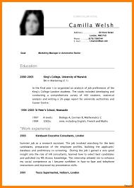 pdf resume template internship resume template format pdf sle high school