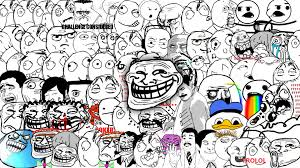 troll face wallpaper wallpapers browse