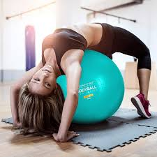 Mua sản phẩm Exercise Ball Chair 65cm & 75cm Yoga Fitness Pilates