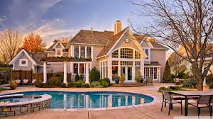 house wallpaper house with pool in the yard vip wallpaper hd wallpapers for