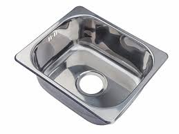 Small Steel Inset Single Bowl Kitchen Sink A Mr Amazoncouk - Small sink kitchen