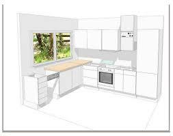 implantation cuisine en l conseils d 39 architecte 3 plans de cuisine en l exemple