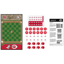 masterpieces mlb cincinnati reds checkers game walmart com