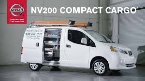 Nissan Nv200 Interior Dimensions 2015 Nissan Nv200 Compact Cargo Van Youtube