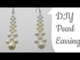 pearl dangle earrings diy pearl earrings pearl earrings pearl dangle