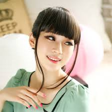 short hairstyles with fringe sideburns usd 11 18 mina wig bangs piece false bangs long sideburns qi liu
