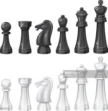 White Chess Set Chess Set Vector Art Getty Images