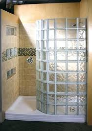 Doorless Shower For Small Bathroom Doorless Walk In Shower Shower Designs For Small Bathrooms Glass