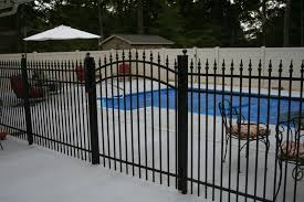 pool code gates photos bryant fence company