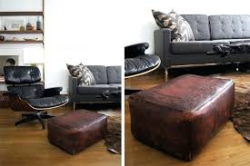 Narrow Ottoman Outstanding Narrow Ottoman Coffee Table Large Leather Coffee Table