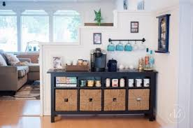 Coffee Bar Table Remodelaholic 13 Ideas For A Home Coffee Bar