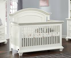 Complete Nursery Furniture Set by Oxford Baby Cottage Cove 4 In 1 Convertible Crib Vintage White
