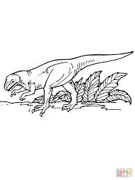 dibujo de alosaurio para colorear dibujos para colorear imprimir