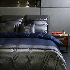 4 european style business men u0027s bedding suite duvet cover set 100