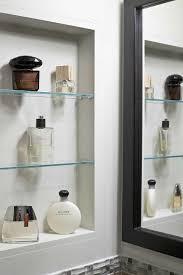 Recessed Shelves In Bathroom Recessed Wall Shelves Bathroom Lewtonsite