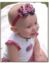 fourth of july hair bows small patriotic 4th of july hair bow headband bow for baby