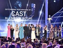 with a lighter touch sag awards follows a familiar script