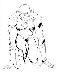 flash superhero coloring pages 27909 bestofcoloring