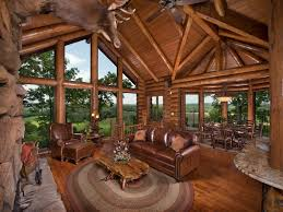 log cabin luxury homes luxury log cabin with custom cliff side vrbo