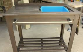 Garden Potting Bench Potting Bench Turned Outdoor Bar