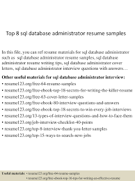Sql Server Developer Resume Sample Sql Resumes Resume Cv Cover Letter