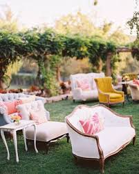 Outdoor Wedding Furniture Rental by Mismatched Vintage Ceremony Chair Rentals Vintageambiance Com