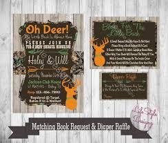 camo baby shower invitations camo baby shower invitation oh deer baby buck on the way