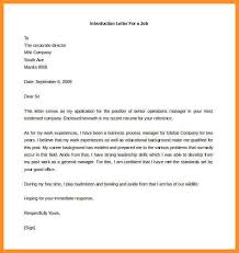 15 format introduction letter appication letter