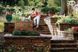retaining wall in the garden u2013 15 ideas for designing terraces