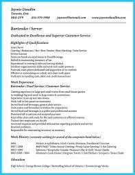 Resume Skills Team Player Bartender Resume Skills Template Billybullock Us