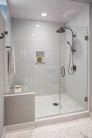 the guest bath had a shower area that was dated and confining a