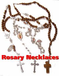 free rosary catholic rosary bead necklaces from italy with free rosary