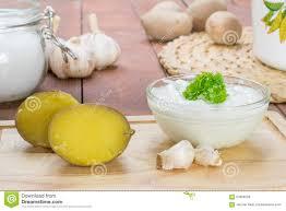 ail en robe de chambre coupez les pommes de terre en robe de chambre avec l immersion d ail